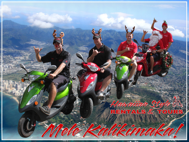 christmas-card - Hawaiian Style Rentals