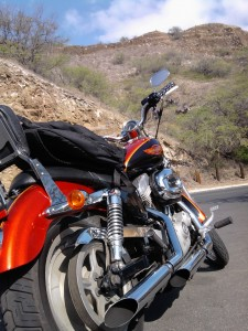 Sportster at Diamond Head