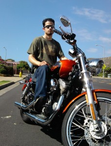 Sportster in Hawaii
