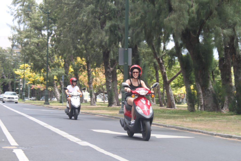 SYM DD50 at Kapiolani Park
